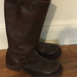 Frye Veronica Slouch Boots, Size 8B